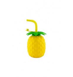 Mug à jus + paille ananas...