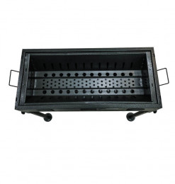 Barbecue à charbon en métal...