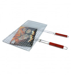 Grill barbecue double manches