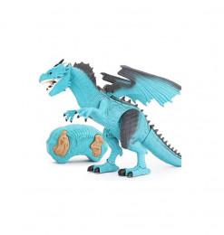 Dragon radiocommandé bleu