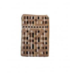 Serviette marron 70x140cm