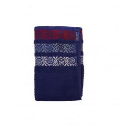 Serviette bleue 70x140cm