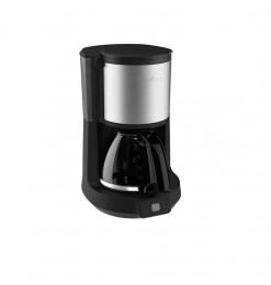 Machine à café en inox noir...