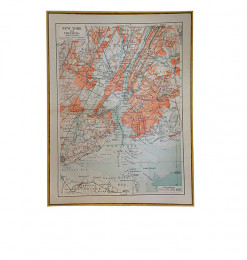 Tableau carte New York
