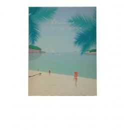 Tableau vacance à la plage