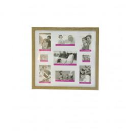Cadre photo motif vinyl