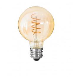 """Ampoule Led """"globe"""" ambrée..."""