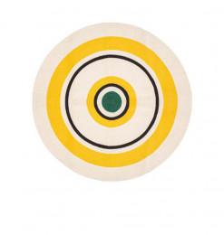 Tapis rond en coton 115cm