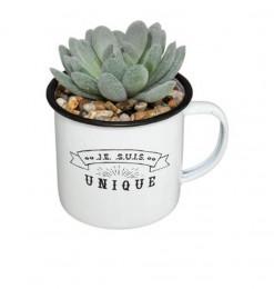 Plante artificielle dans un...
