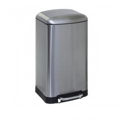 Poubelle métal Inox 30L Ariane