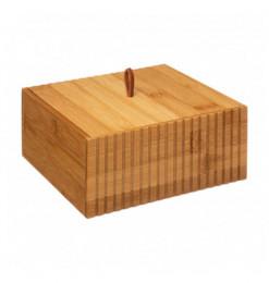 Pot à coton en bambou