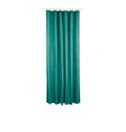 Rideau douche polyester vert