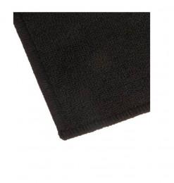 Tapis uni noir 50X80cm