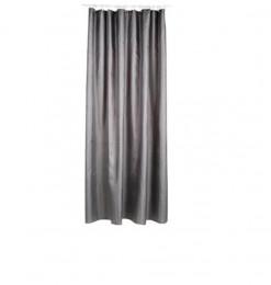 Rideau douche polyester gris