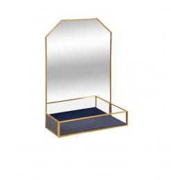Miroir en métal et verre +...