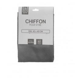 Chiffon vitre gris 40x40cm
