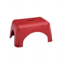 Marchepied plastique rouge...
