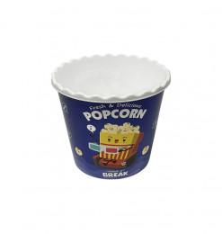 Pot à popcorn bleu en...