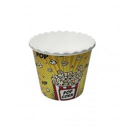 Pot à popcorn jaune en...