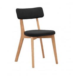 Chaise en tissu Amedee -...