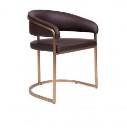 Chaise en acier inoxydable