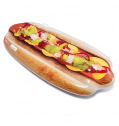 Matelas gonflable hot dog
