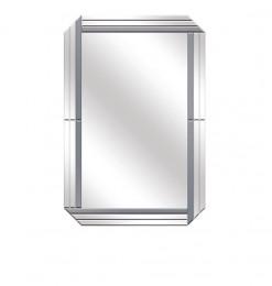 Miroir rectangle fumé clair