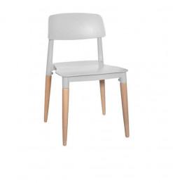 Chaise design enfant bleu