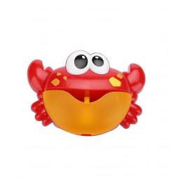 Jeu de bain le crabe à bulles