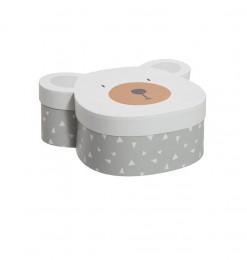 Boite ourson carton (x3)