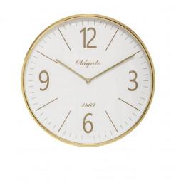 Horloge or plastique/verre...