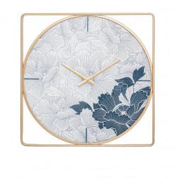 Horloge carré 58cm