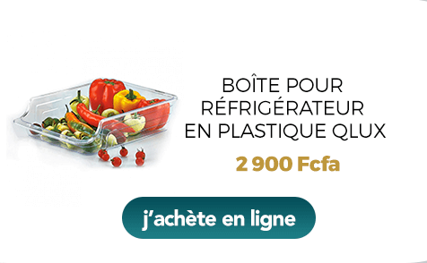 Boîte pour réfrigérateur en plastique Qlux